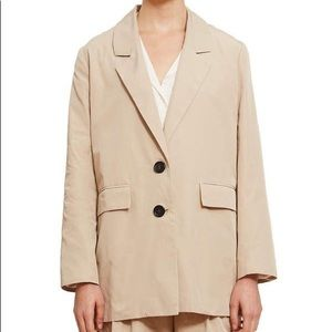 FUNG LAN AND CO Oversized Beige Blazer Jacket NWT